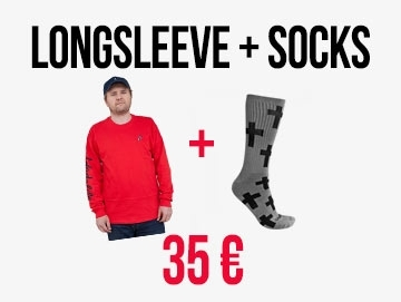 Longsleeve + Socks Bundle