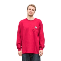 BladeLife - 5th Anniversary Pocket Longsleeve - Cardinal Red