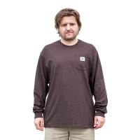 BladeLife - 5th Anniversary Pocket Longsleeve - Chocolate Brown