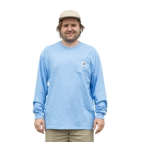 BladeLife - 5th Anniversary Pocket Longsleeve - Pale Blue