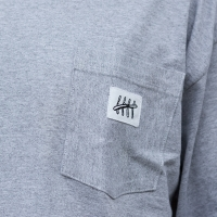 BladeLife - 5th Anniversary Pocket Longsleeve - Sport Grey