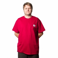 BladeLife - 5th Anniversary Pocket Tee - Cardinal Red
