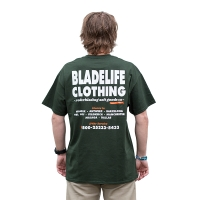 BladeLife - Workwear T-shirt - Forest Green