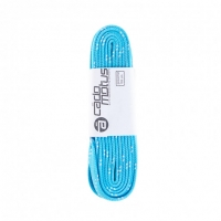 CadoMotus - Waxed Laces - Cyan Blue/White Dots
