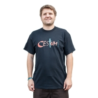 Cesium - Sword Tshirt - Black