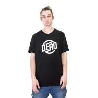 Dead - Circle Logo T-Shirt - Black