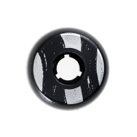 Dead - Team 58mm/92a - Black/Silver Ring