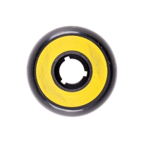 Dead - Team Wheel 58mm/95a - Black/Yellow