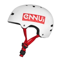 Ennui - BCN Helmet - White Red