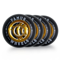 Famus - Alu Flash Wheel 72mm/88A (4 szt.)