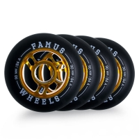 Famus - Alu Fugitive Wheel 90mm/84A (4 szt.)