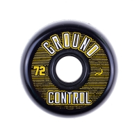Ground Control - Black/Gold 72mm/90a