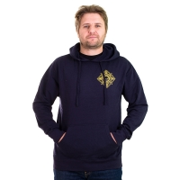 Ground Control - Crest Hoodie - Black