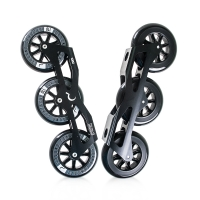 Ground Control - Tri-Skate Frame V.2 110mm - Black - Ready2Roll