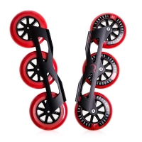 Ground Control - Tri-Skate V3 110mm - Red - Complete