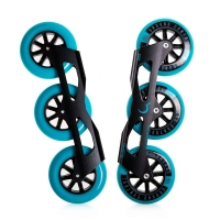 Ground Control - Tri-Skate V3 110mm - Turquoise - Complete