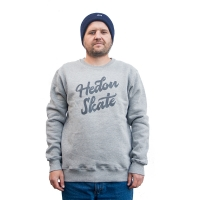 Hedonskate - Handwritten Sweater 2019 - Grey