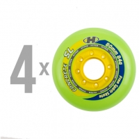 Hyper - Concrete SL 80mm/84a - Green/Yellow (4 pcs.)