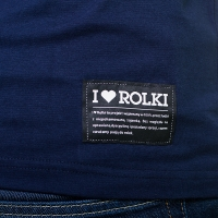 I Love Rolki - Classic T-shirt - Navy