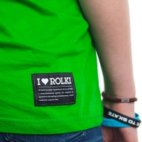 I Love Rolki - Classic Women T-shirt - Green
