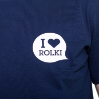 I Love Rolki - Logo T-shirt - Navy