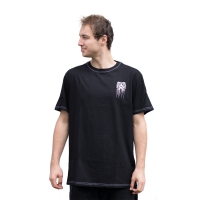 Kaltik Drip Face TS - Black/White