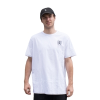 Kaltik Drip Face TS - White/Black