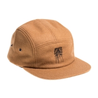 Kaltik Wool 5 Panels Cap - Brown