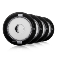 Powerslide - Defcon Dual Density 76mm/78-85a - Czarne (4 szt.)