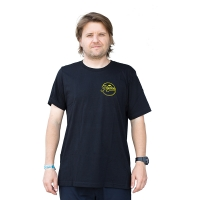 Razors - Circle T-shirt - Black/Lime