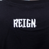 Reign - Bird Tat T-shirt - Black/White
