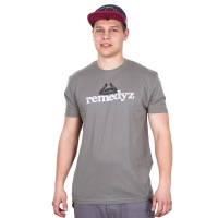 Remz - Craft T-shirt - Grey