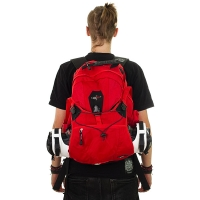 Seba - Backpack Large - Red