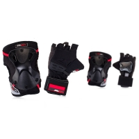 Seba - Protective Pack x 2 (Glove + Knee Zip)