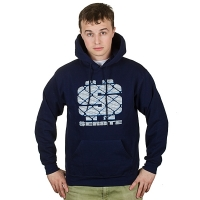 Senate - Dollar Hoodie - Dark Blue