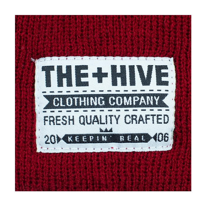 2886f41c450b0 The Hive - Classic Lumber Beanie - Maroon · Hedonskate
