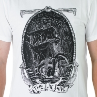 The Hive - Ghost ship T-shirt - White