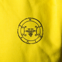 The Hive - Portrait Hoodie - Lemon