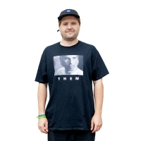 THEM - Alex Broskow - Tee - Black