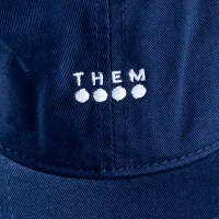 THEM - Dad Cap - Navy