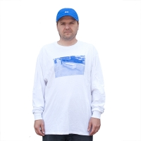 THEM - Darst Spot 1 - Long Sleeve - White
