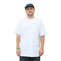 THEM - Pocket Tee - White