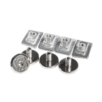Usd - Aeon Cuff Screw Set - Srebrne
