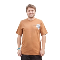 Vibralux - What are you - Tshirt - Brown
